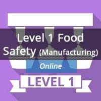HX Training Level 1 food safety course