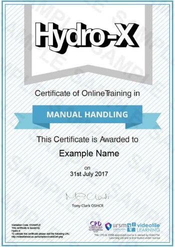 Manual-Handling cert