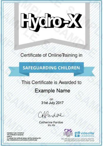 Safeguarding-Children cert