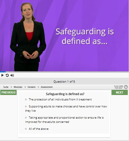 Safeguarding adults question