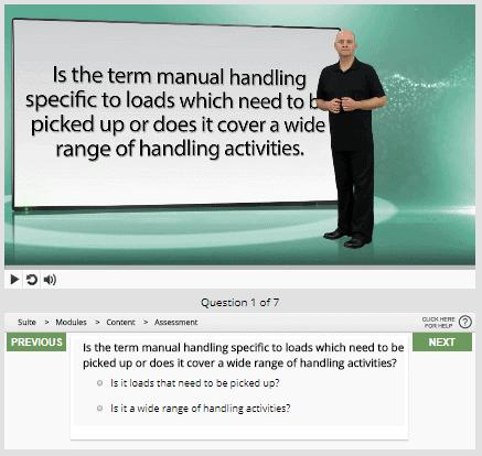 manual handling question