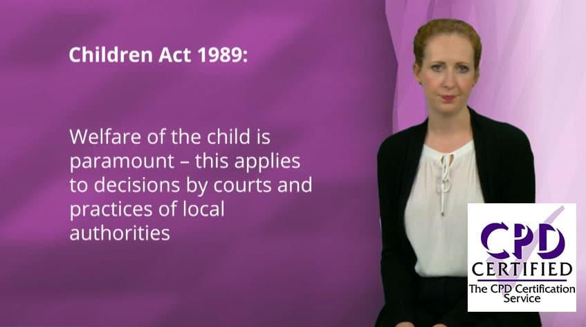 manual safeguarding children course image