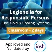 Legionella Responsible Person Training Course IOSH