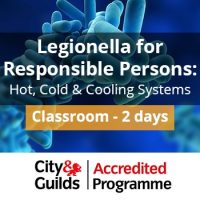 Legionella Responsible Person Training with Cooling City and Guilds