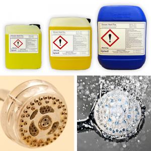 Showerhead Plus Liquid Solution for shower head and hose