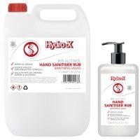 HXS Hand Sanitiser Rub Range