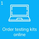 Order your coronavirus saliva test kit online