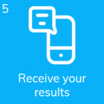 Receive your coronavirus saliva test kit results