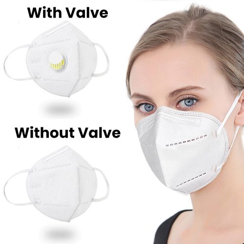 KN95 mask with or without valve